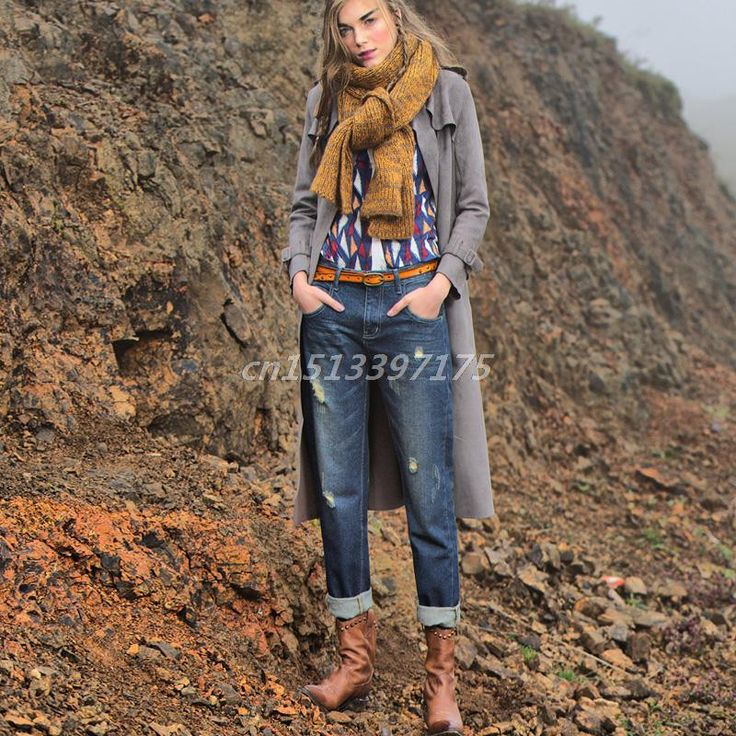 Boyfriend Jeans For Women Hot Casual Mid Loose Vintage Denim Harem Pants Plus Size Woman Jeans B528