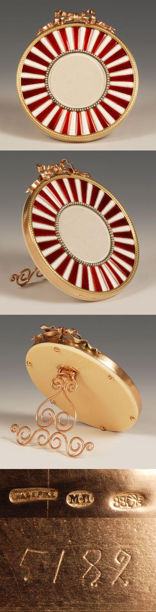 286 best antique gold silver enamel photo frames images on faberge perchin enamel frame jeuxipadfo Choice Image