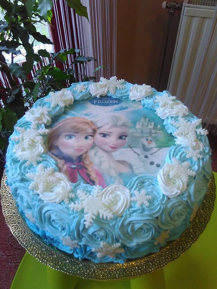Frozenes torta jégvarázs