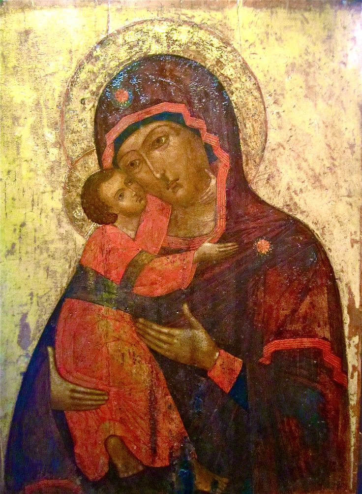 Vladimir Mother of God, c. 1680. Museum of Russian Icons, Clinton, MA