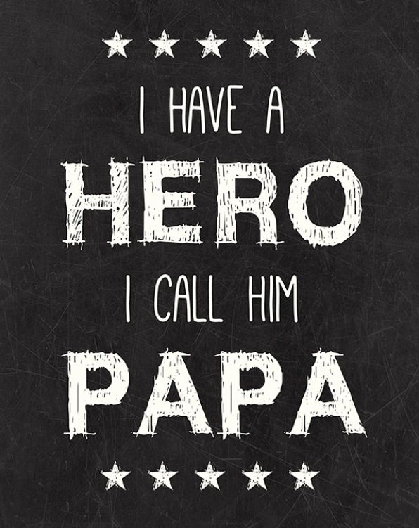 We all do now. My daddy and a top notch grandfather:)