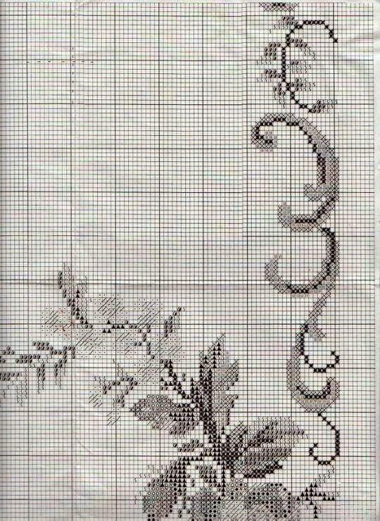 """Милые сердцу штучки: Вышивка крестом: """"Дорожка в стиле ретро"""" (от OOE)"""