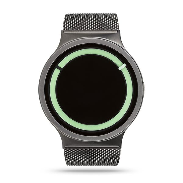 Buy your ZIIIRO Eclipse Metallic Gunmetal/Mint® Watch from an authorised retailer with free worldwide delivery. October 2016 collection and 5% off your first order