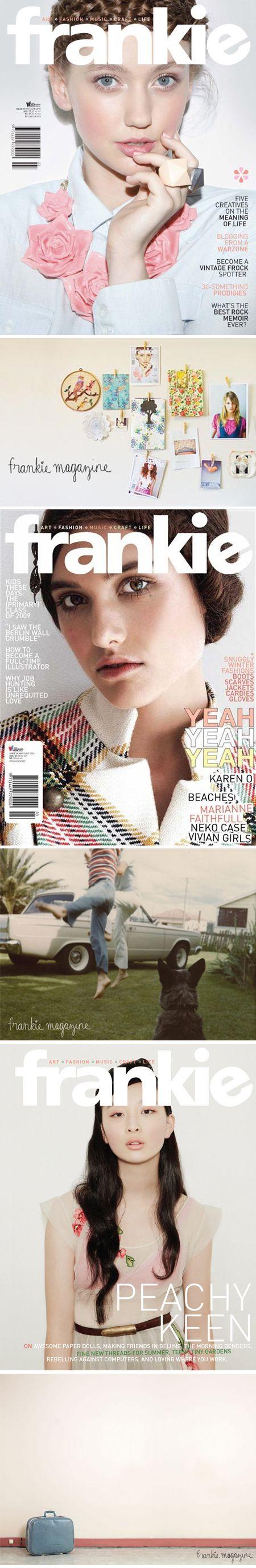 I love frankie magazine