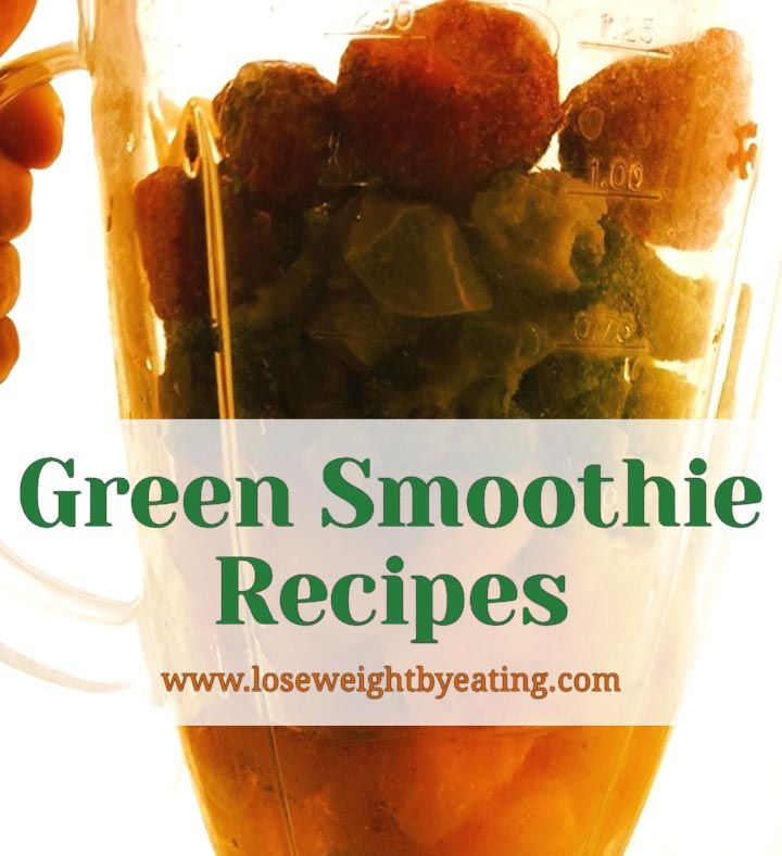 Lose weight and feel great with Green Smoothie Recipes for Beginners. These healthy smoothies taste great and are an easy way to get your veggies fast! via @tonetiki