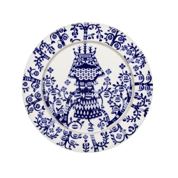 Iittala Taika bord Ø 27 cm - Blauw