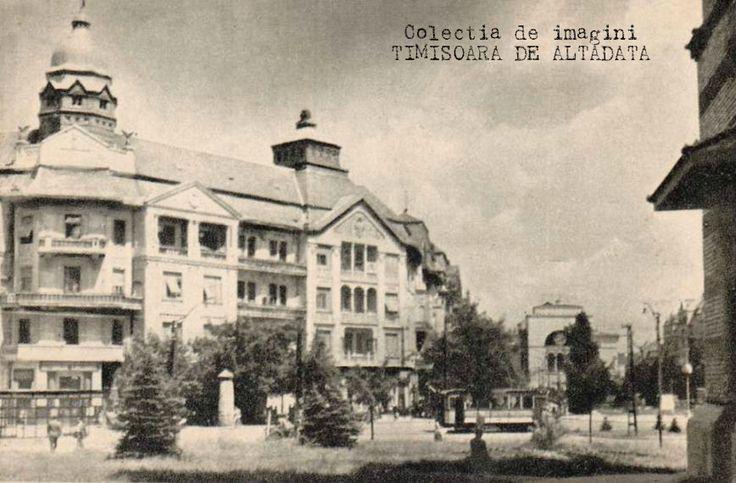 Centrul Timisoarei in 1950