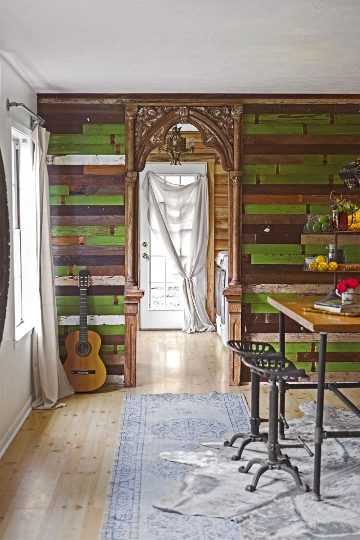 Here's How to Cozy Up a Room with Reclaimed Wood Like the Junk Gypsies