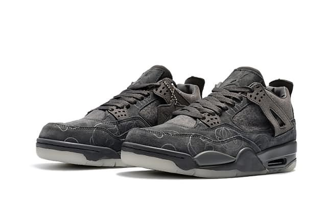 Cheap KAWS X Air Jordan 4 Retro Suede Gray AA Unisex shoes|Wholesale Jordan 4 Men|Discount Only Price $91 To Worldwide and |Free Shipping WhatsApp:8613328373859