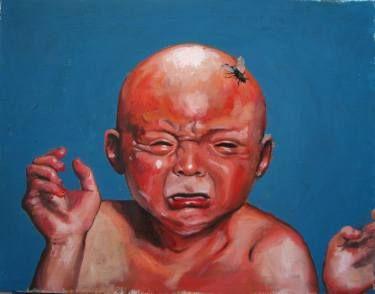 "Saatchi Art Artist Stefan Doru Moscu; Painting, ""Hole In My Soul"" #art"