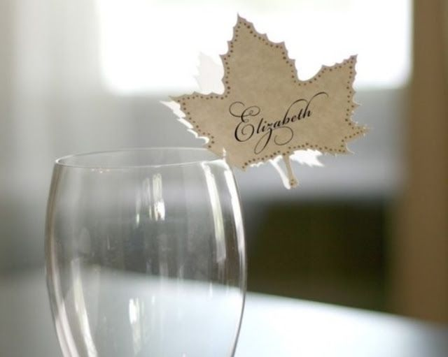 cute thanksgiving place cards
