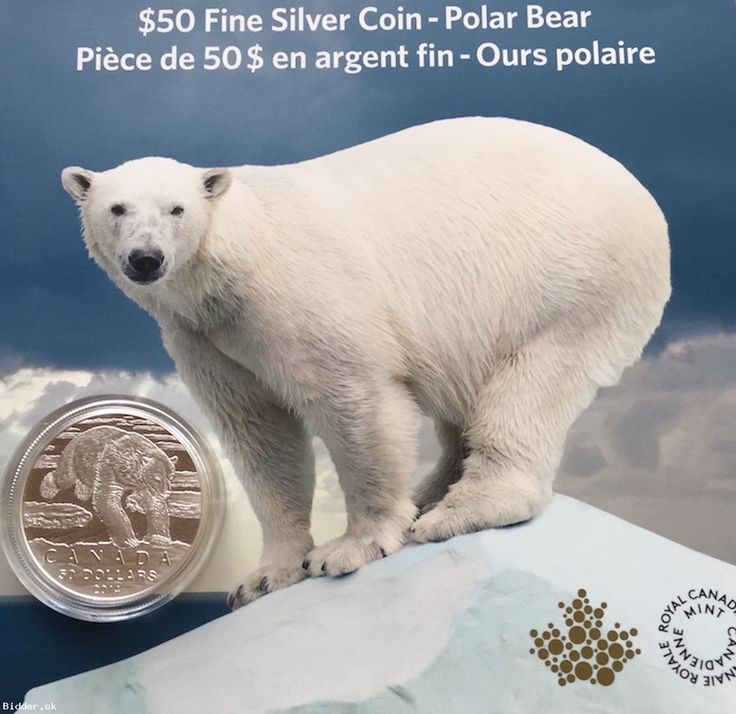 $50 Fine Silver Coin - Polar Bear (2014)