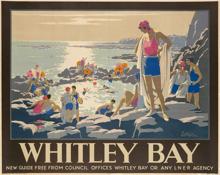 LNER Whitley Bay Poster