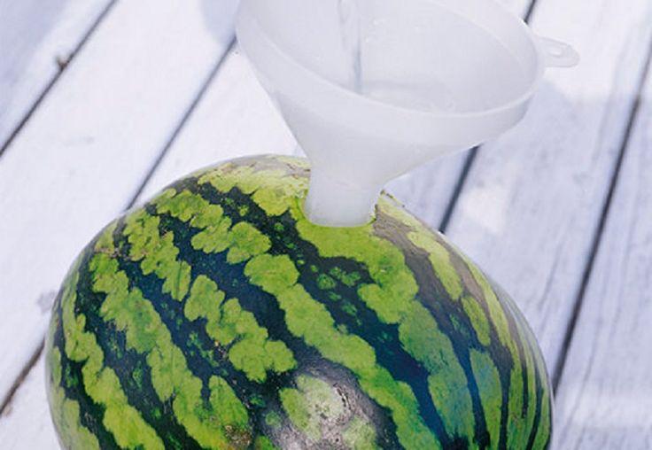Melon d'eau à la Vodka!