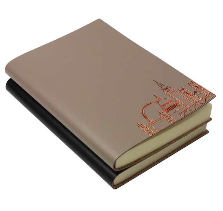 Leather Notebook With Contemporary London Design – Hand crafted by Undercover UK