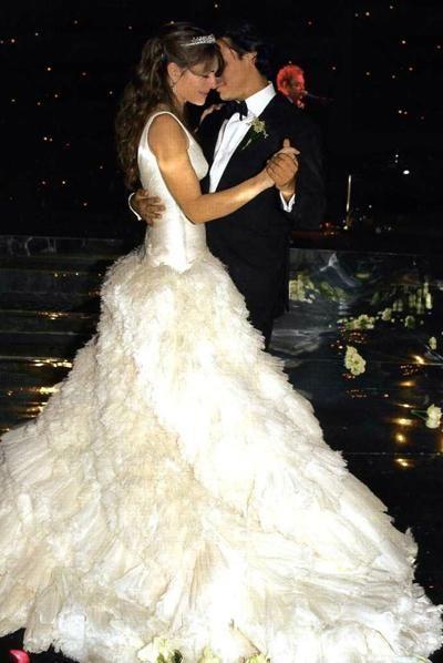 Сказочная свадьба Элизабет Херли