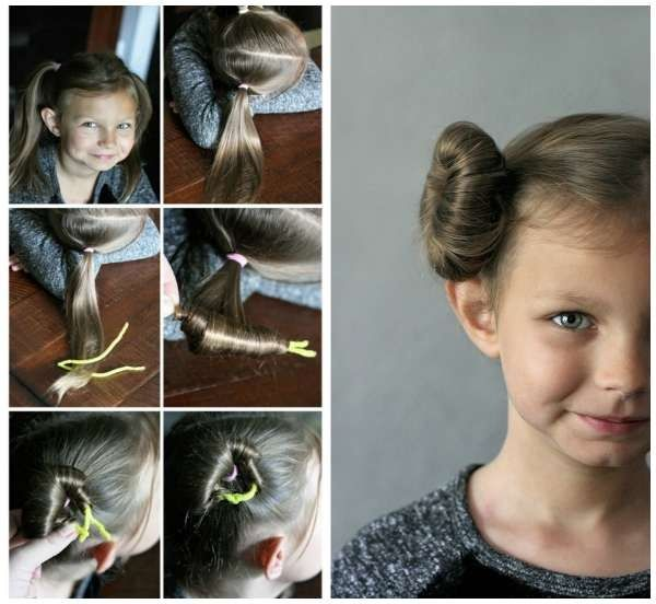 Braid Girl Hairstyle The Best Braids Pigtails For Little Girls Best Newest Hairstyle Trends Princess Leia Hair Girl Hair Dos Girl Hairstyles