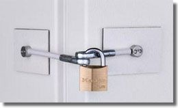 Refrigerator Lock with Key