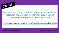 How To Speed Check Your Website / Blog / SEO TIP /  How To See How Fast Your Website Runs On A Laptop And Mobile Phone Speed Check Your Website / Top Tip / Social Media Tip /  Tip from facebook.com/dearnevalleywebdesign Post by facebook.com/TheBestBossEverIsYou   Best Boss Ever!: SEO TIP - How To See How Fast Your Website Runs On...