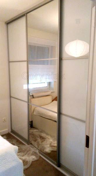 sliding doors mirror + lacobel http://Goryniak.pl