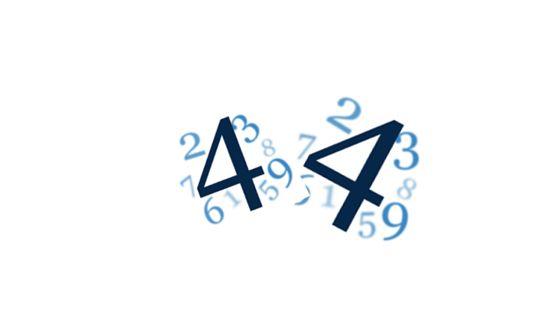 Wibracja numerologiczna liczby 44. Wibracja Mistrzowska.