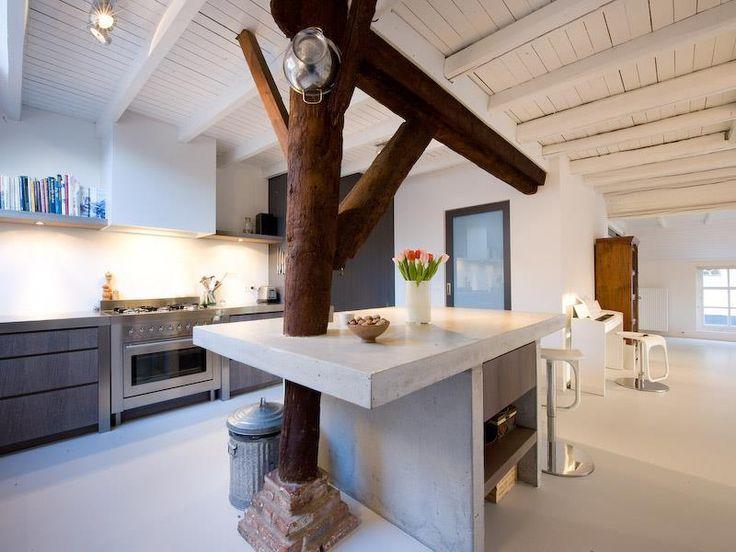 kitchen in a Dutch farm