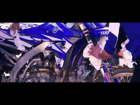 Vídeo de apresentação da Yamaha Factory Racing 2014 para o Campeonato Mundial de MX