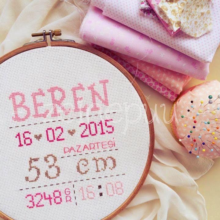 Zuhal hanımla son çalışmamız Beren için oldu ♥ Odası için hazırladığımız pano , dekorasyonuyla benzer tonlarda ♥ hoşgel...
