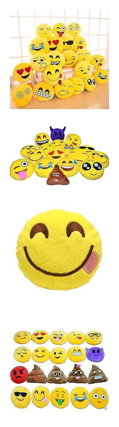 Ceramic Clays 183305: 14 Emoji Pillow (Set Of 12) Assorted Emojis Original Emoji -> BUY IT NOW ONLY: $68.98 on eBay!