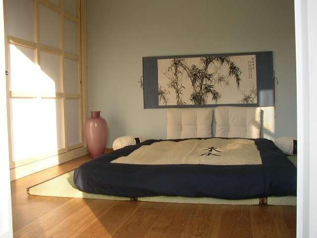 Arredare una camera da letto in stile giapponese - Biancheria da letto orientale