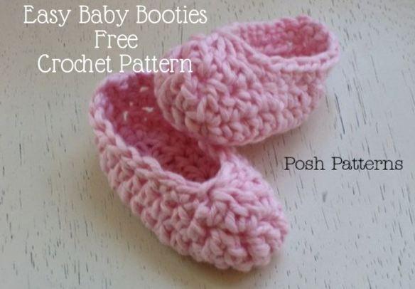 free baby booties pattern BABYWEAR Pinterest Free ...
