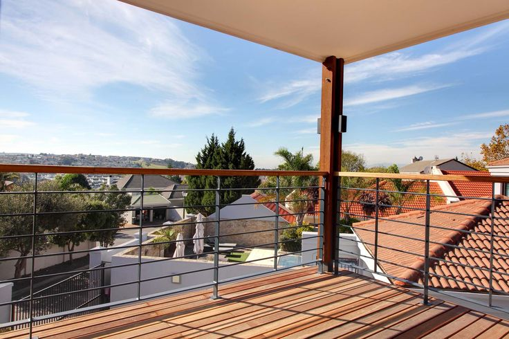 Deck and balustrades