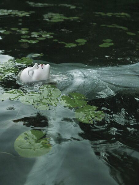 art, beautiful, creepy, dress, epic, girl, grunge, lonely, ophelia, pale, photography, queen, sad, scary, vintage, water