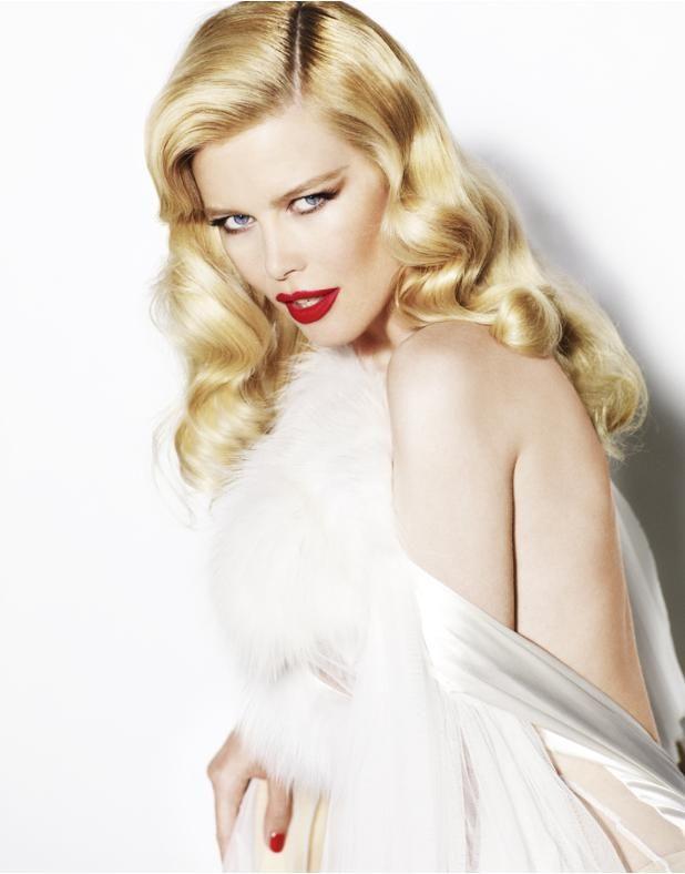 "Claudia Schiffer photographed by Mario Testino for ""Star Girls"" Vogue U.K, Dec '10."