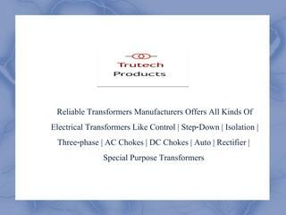 Watch out our latest Video on Isolation Transformer Manufacturers