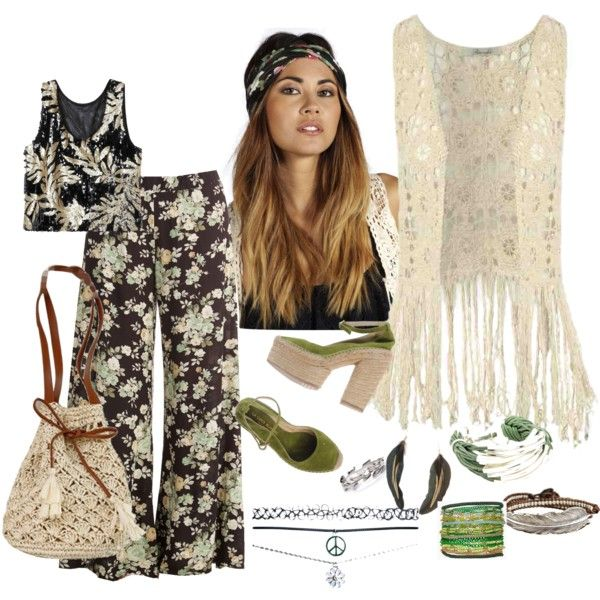 Hippie chic by asya-gorelkina on Polyvore featuring polyvore fashion style La Cord Blanche M. Cohen Sequin Saachi MANGO Wet Seal Boohoo