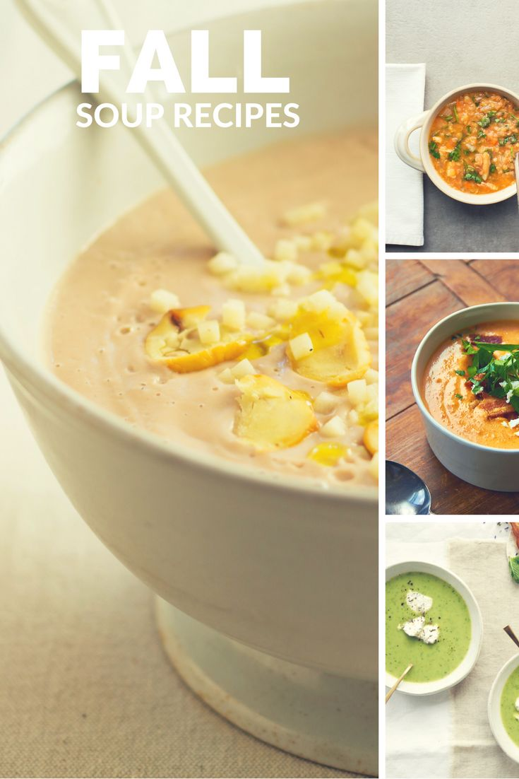 Cozy, comforting soups for fall
