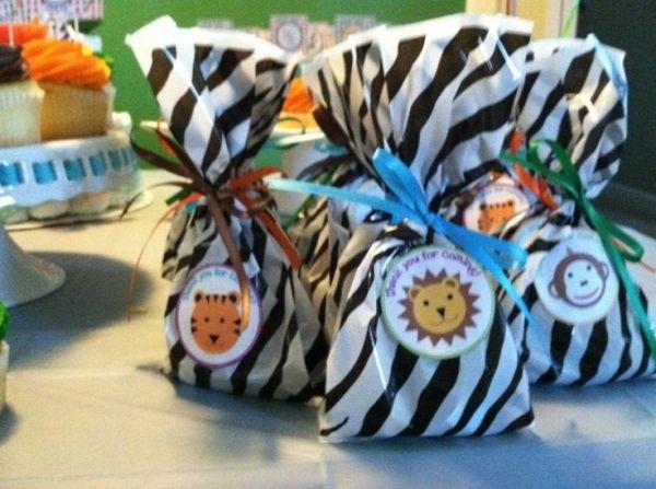Favors for safari theme baby shower! | Baby Boy Shower ... |Safari Animal Baby Shower Favors