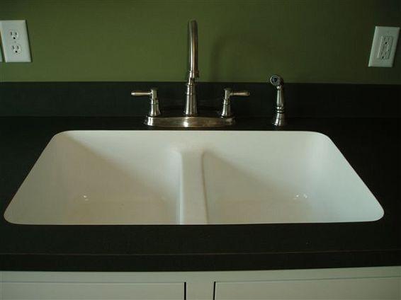 Karran Sinks : Laminate top with undermount sink Karran house ideas Pinterest