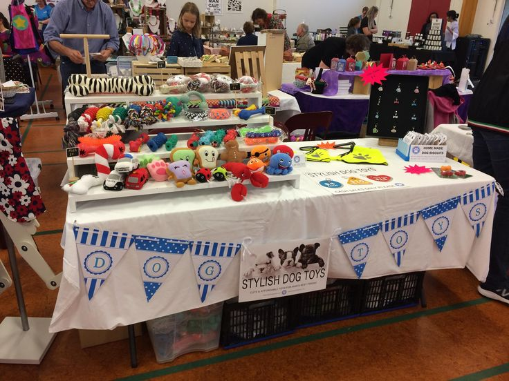 Steph (age 13) ran her first market stall selling Stylish Dog Toys at Papakowhai Markets last week... Some lucky dogs will be getting Xmas toys this year!!!! A great night had by all...