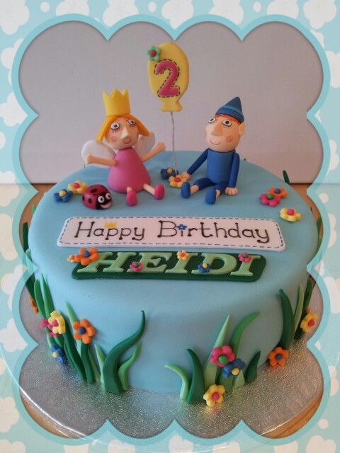 Ben and Hollys little Kingdom cake