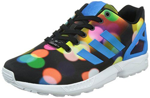 Adidas Men's ZX Flux, LIGHT PRINT-BLACK/BLUE/WHITE, 8.5 M US - http://buyonlinemakeup.com/adidas/8-5-d-m-us-adidas-mens-zx-flux-light-print-black-blue-5