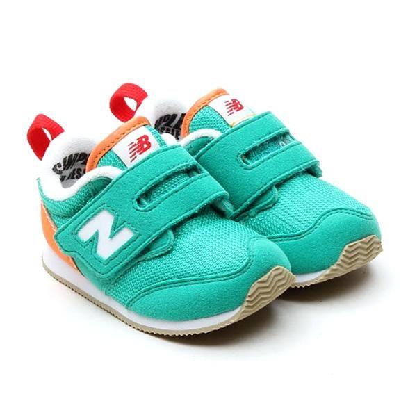 Zapatos negros con velcro New Balance infantiles ll7luxLQ