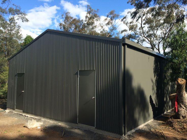 Ranbuild shed. 8m X 10m X 3m built for Dubbo Zoo. Kieren Lee Plumbing & Construction 0428690696