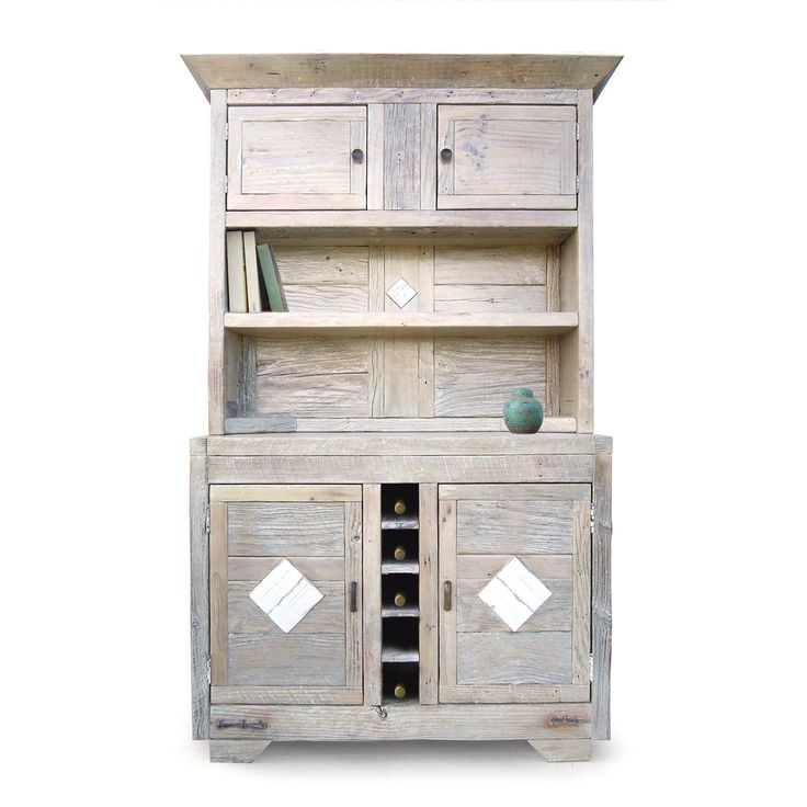 #kitchen hutch like no other! A careful selection of #timber and a the glossy white wash finish make this beautiful cabinet unique.