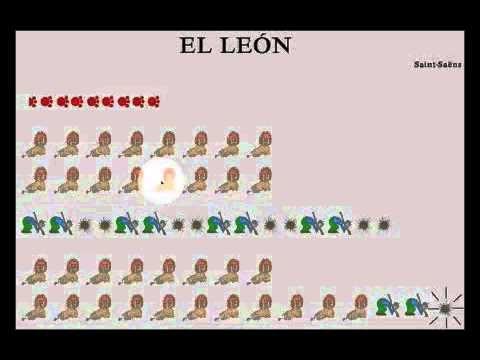 ▶ El León - El Carnaval de los animales - YouTube