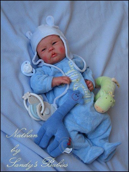 Авторские силиконовые куклы мастера Сэнди Фабер (Sandy Faber) / Уникаты кукол малышей / Бэйбики. Куклы фото. Одежда для кукол