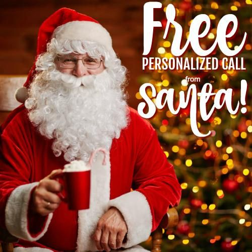 FREE Personalized Phone Call and Video Message From Santa!