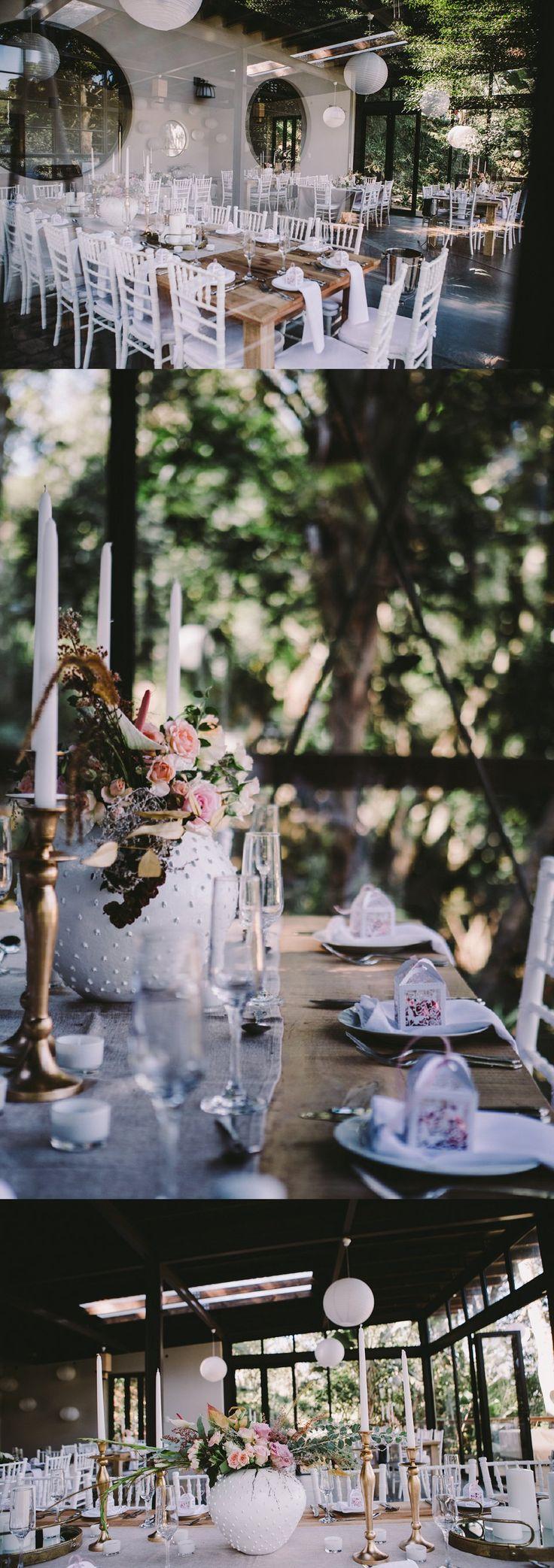 Cindy & Steyn's small environmental retreat wedding