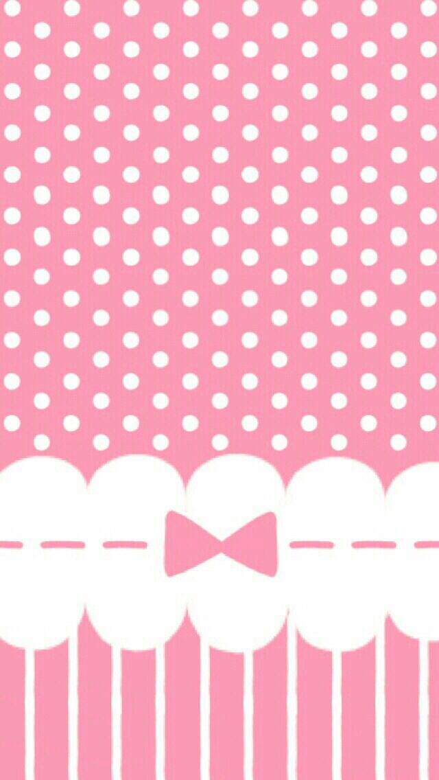 Polka Dots Bows And Ribbons The Color Pink Every Girly Girls Dreams